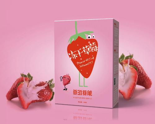 冻干草莓盒装